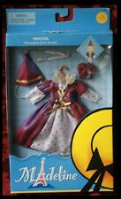 """NEW MADELINE DOLL OUTFIT 8"""" PRINCESS HALLOWEEN QUEEN MIDEVIL RENAISSANCE COSTUME"""