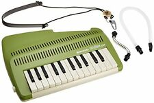 SUZUKI ANDES-25F 25 Key Recorder Keyboard Melodion with Mouthpiece and Strap F/S
