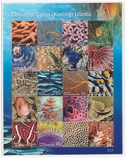 Cocos (Keeling ) Islands  2011  Marine Life, Fish set MNH mint stamps