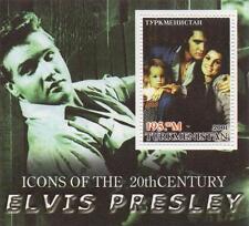 ELVIS PRISCILLA LISA MARIE PRESLEY FAMILY MINT MINIATURE STAMP SHEETLET