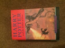 Harry Potter And The Goblet Of Fire First Edition First Print Rare Error