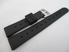 Men's Vintage SEIKO Reproduction 19mm Waffle Strap 6105 Diver Homage