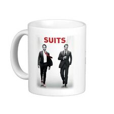 SUITS MUG YOU JUST GOT LITT UP Personalise Name HARVEY, MIKE, LAWYER, Xmas Gift