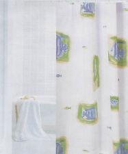 Duschvorhang inkl. Ringe 180x180 Design A128