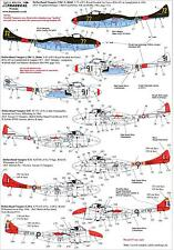 Xtra Decals 1/72 DE HAVILLAND VAMPIRE T.55 Overseas Operators Part 1