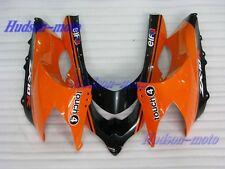 Front Nose Cowl Upper Fairing For Kawasaki Ninja ZX10R 2004-2005 Orange/Black