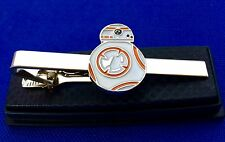 Star Wars Tie Clip The Force Awakens BB8 BB-8 Droid Robot Tie Clasp