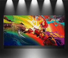 "24x48"" Large Modern Abstract Art Hand-painted oil painting on canvas no frame"