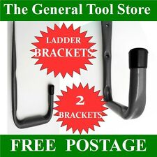 HEAVY DUTY WALL MOUNTED TACK BRACKET PACK OF 2 BRACKETS STORAGE HOOKS BRIDALS