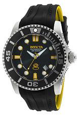 Invicta Pro Diver Automatic Black and Yellow Silicone Men's Watch 20199