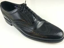 Florsheim Black Men's Dress Shoes. Size 12. Wing tip.