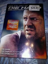 The Die Hard Collection DVD 2007 4-Disc Set French English Versions New Sealed