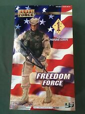 "Blue Box BBI 1/6 scale 12"" Elite Force Persian Gulf USMC Marine Freedom Force B"