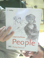 LEARN TO DRAW PEOPLE PAPERBACK PHILIP PATENNALL GREAT GIFT FREE UK POST
