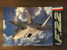 Glossy IN COLOR Lockheed-Boeing General Dynamics Aircraft Poster- circa 1990s