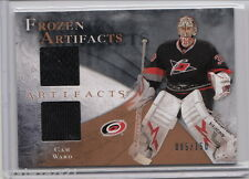 2010-11 UD Artifacts CAM WARD Dual Game Jersey /150