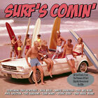Surf's Comin' VARIOUS ARTISTS Best Of 75 Surf Rock Songs BEACH MUSIC New 3 CD