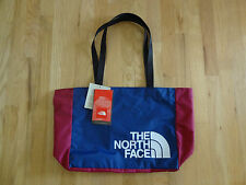 New North Face Tote Bag Shopping Travel Gym Camping Navy Maroon Eco Friendly NWT