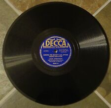 "78 By Louis Armstrong, ""Going To Shout All Over God's Heaven"" on Decca"