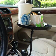 Car Swivel Tray & Storage Cup Holder Arm Bin for Drinks Food Phone Lunch Vehicle