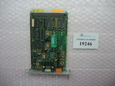 Surveillance card MF 600/1 Bachmann No. 3736/01, used spare parts Battenfeld