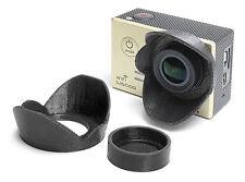 Sonnenblende Lens Hood f. SJCAM 5000 / SJCAM 5000+ Sun Shade Cap Linsen Schutz