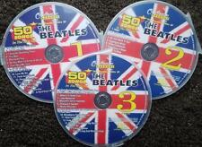 THE BEATLES 3 CDG SET CHARTBUSTER HITS KARAOKE 50 SONGS CD+G  YELLOW SUB 5132
