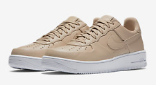 MENS NIKE AIR FORCE 1 AF1 ULTRAFORCE SHOES LEATHER LINEN TAN 845052-200 SIZE 8