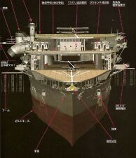 IJN AKAGI Imperial Japanese Navy Aircraft Carrier 3D CG 18 Book