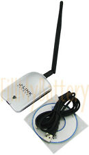 J-Link LJ6106 High Power USB WiFi Adapter 2W + 6dBi Long Range RP-SMA Antenna