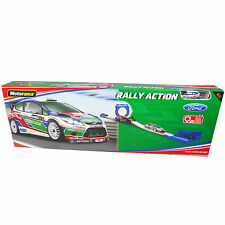 Motorama Rally Action Speed Ford  Fiesta RS WRC 13pc Track Diecast Vehicle