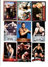 Big Show Wrestling Lot of 9 Different Trading Cards 2 Inserts WWE TNA BS-K1
