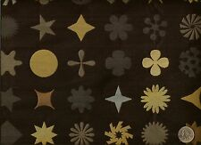 Maharam Dingbats Onyx Contemporary Geometric Shapes Modern Upholstery Fabric