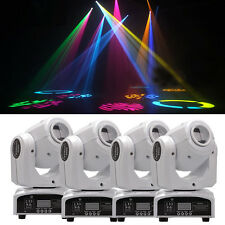 4PCS 60W RGBW Beam LED Moving Head Stage Light DMX-512 Disco DJ Party Lighting