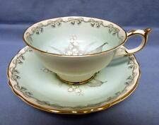 "PARAGON by APPOINT.H.M.QUEEN&H.M.QUEEN MARY Bone China CUP&SAUCER ""TO THE BRIDE"""