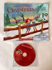 *NEW* AND THEN COMES CHRISTMAS by Tom Brenner - Scholastic Book & CD