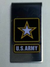 UNITED STATES ARMY LOGO MONEY CLIP NEW