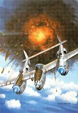 (12898X) Carte postale - Avion - P-38 Lightning - moderne / large