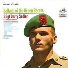 SSgt. Barry Sadler: Ballads of the Green Berets. CD Military Songs