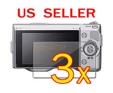 3x Sony Camera NEX-3 NEX-5 NEX-5N NEX-7 NEX-7N LCD Screen Protector Cover Film