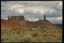 196016 Monument Valley Storm A4 Photo Print