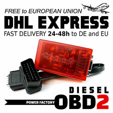 Chiptuning OBD2 MERCEDES C 220 CDI W204 Chip Box Tuning TuningBox OBD 2 II
