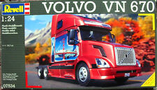 NEW IN BOX Revell Volvo VN-670 Conventional Model Truck Kit 1/24 - RARE & HTF!
