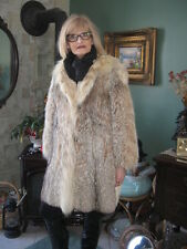 #A96 WOMEN  must have it sweet montana lynx fur coat size 8/9