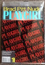 "Playgirl Magazine - New August 1997  ""Brad Pitt Nude!"" Factory Sealed!"