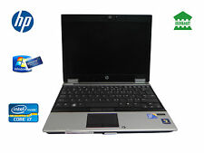 "HP Elitebook 2540p 12.1"" Laptop Core i7 2.13GHz 4GB RAM 250GB HDD Win 7 Pro WiFi"