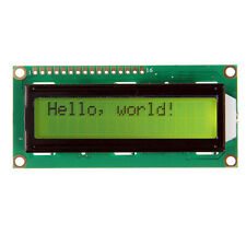Geeetech brand New yellow backlight LCD 1602 16x2 Characters display for Arduino