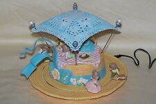 Ultra RARE Enesco Summertime Frolic Multi-Action Mice Music Box MIB