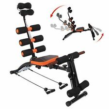 HOME EXERCISE 6 IN1 AB FITNESS EQUIPMENT WONDER MACHINE CORE GYM TRAINER WORKOUT
