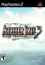 Atelier Iris 3: Grand Phantasm [PlayStation 2 PS2, RPG Rare Video Game] NEW